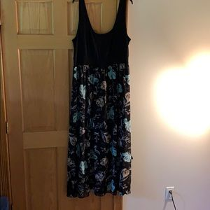 torrid tank top floral dress